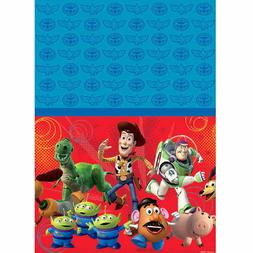 Disney Toy Story Plastic Table Cover Birthday Party Decorati