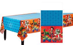 Disney Toy Story Power Up Plastic Table Cover Kids Birthday