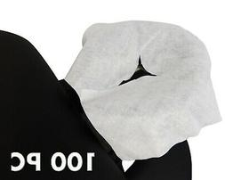 100 PC Disposable Face Cushion Cover Head Rest Cover Cradle