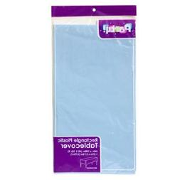 3-PACK DISPOSABLE PLASTIC TABLE COVERS / TABLECLOTHS