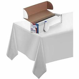 Disposable Table Cover Durable Plastic Indoor/Outdoor Tablec