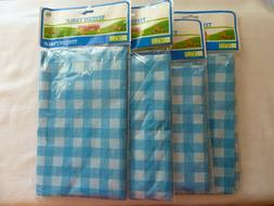 Disposable Tablecloth 4 Picnic Style Table Covers Great For