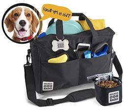 dog travel bag - day away tote for all size dogs - includes