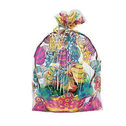 "Easter Basket Bags  17 3/4"". Cellophane."