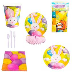 Easter Party Ware - Cups Cutlery Plates Napkins Table Cover