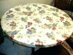 Elasticized Tablecloths Table Cover FRUIT Fruits Fitted Cove