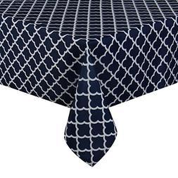 ColorBird Elegant Trellis Tablecloth Waterproof Spillproof P