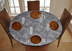 LAMINET Elite Elastic Edged Print Table Pad - Marble Grey -