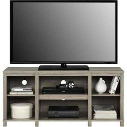Entertainment Cubby TV Stand, up to 50 inch TV, Light Oak Wo