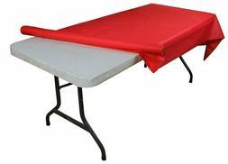 Exquisite Premium Quality Plastic Table Cover Banquet Rolls