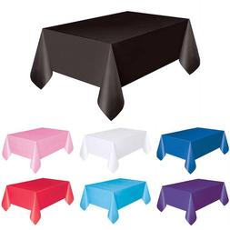 Fashion Candy Color Rectangle Table Cover Cloth Wipe Clean P