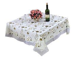 DRAGON SONIC Fashionable Elegant Table Cloth/Hi-end Large Sq
