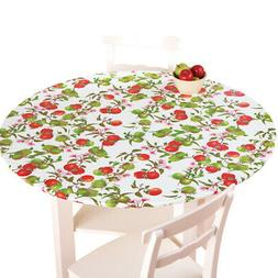 Fitted Elastic Vinyl Table Cover