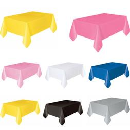 Fitted Polyester Tablecloth Rectangular Table Cover Wedding