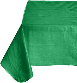 Amscan Flannel-Backed Oblong Table Cover | Festive Green | 5