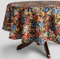 "Threshold ~ FLORAL ~ Oblong 60""x104"" Tablecloth Kitchen Tabl"