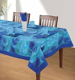 Floral Rectangular Square Tablecloth Table Decor Cover Runne