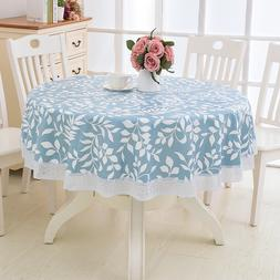Flower Style Round <font><b>Table</b></font> <font><b>Cloth<