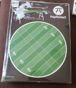 TableTopit Football Field Elastic Band Rectangle Table Cover