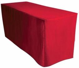 5' ft. Fitted Polyester Table Cover Trade show Booth banquet
