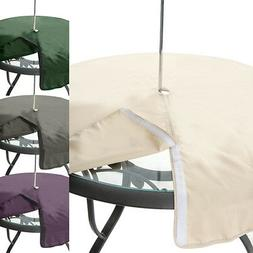 Gardenista Garden Table Covers Water Resistant Parasol Openi