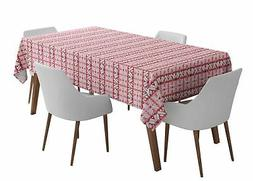 S4Sassy Geometric Outdoor Dining Table Cover Home Decor Tabl