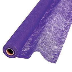 Fun Express - Purple Gossamer Roll 100FT X 3FT Wedding Aisle