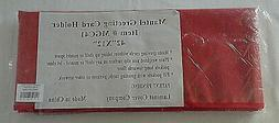 Mantel Greeting Card Holder Red Mantel Laminet Cover Company