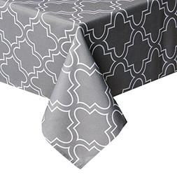 ColorBird Elegant Moroccan Tablecloth Waterproof Spillproof
