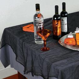 Halloween Black Cheese Cloth Tablecover