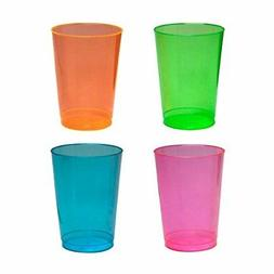 Party Essentials Hard Plastic 10-Ounce Party Cups/Tumblers,