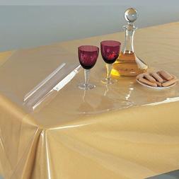 Heat Resistant,Easy Clean Waterproof Plastic Table Cover, Cr