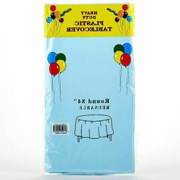 """Heavy Duty 84"""" Round Table cover for Wedding Birthday Party"""