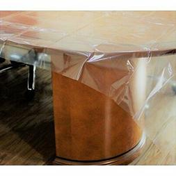 Exquisite Heavy Duty Waterproof Plastic Table Cover, |Heavy