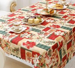 Home Christmas Decorations Tablecloths Dining Table Covers R