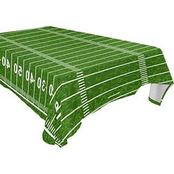 Aideess Home Decoration American Football Field Polyester Ta