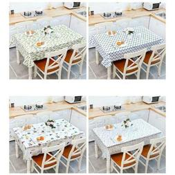 Home Dinning Kitchen Home Waterproof Vintage Table cover Tab