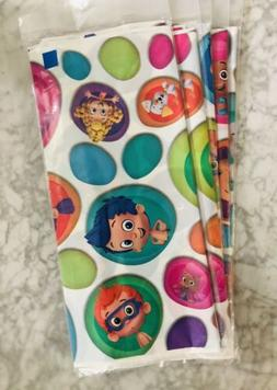 Hot New Custom Bubble Guppies Table Cover Cloth Printed Cott