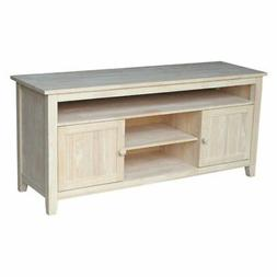 International Concepts Tv-51 TV Stand with 2 Doors, Ready To