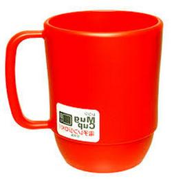 JapanBargain 3091 Microwavable Water Mug, 11.8 Ounce, red