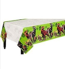 Jurassic World Dinosaur Plastic Table Cover Birthday Party S