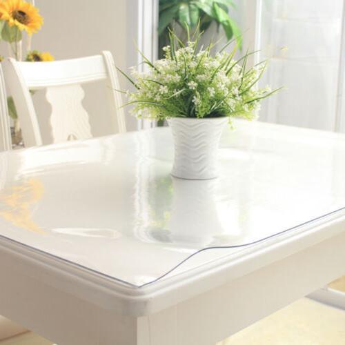 1.5mm PVC Waterproof Transparent Desk Protector Cover Pad