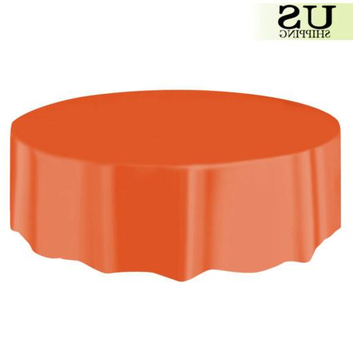 """10/20 Plastic Table Cover Covers 84"""""""