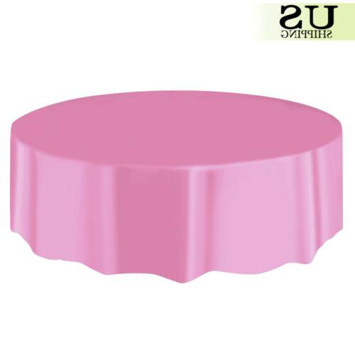 """10/20 Pack Plastic Table Cloth Covers Wedding Favors 84"""""""
