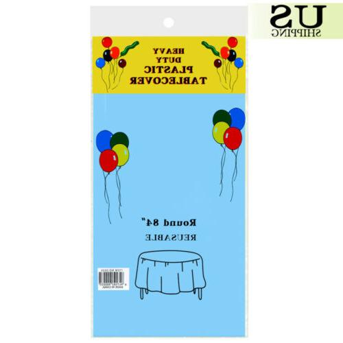 """10/20 Pack Table Cover Cloth Covers Party 84"""""""