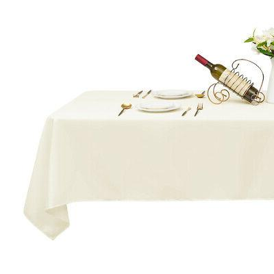10 PCS 126 inch Tablecloth for Party Home