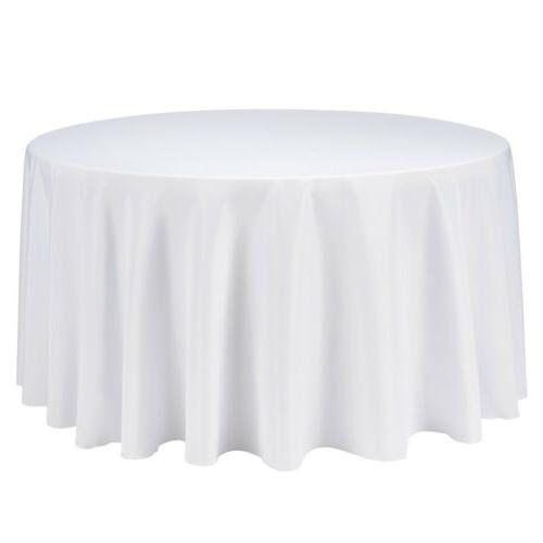 "108"" Inch Table Cover for Wedding Parties Dinner US"