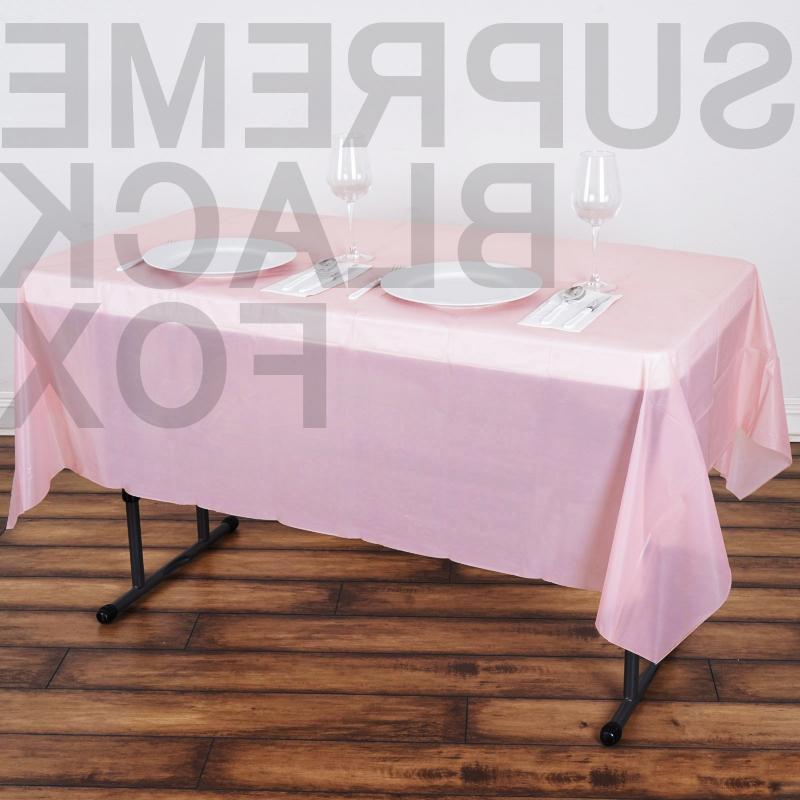 "10pcs Plastic Table 54"" x Birthday Wedding"