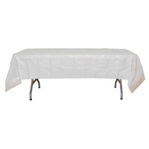 12-Pack Premium Plastic 54in. Table - Clear by