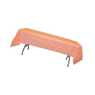 12 pack premium plastic tablecloth 54in x